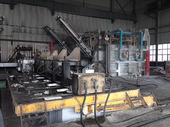 75T内导式液压半连续铸造机