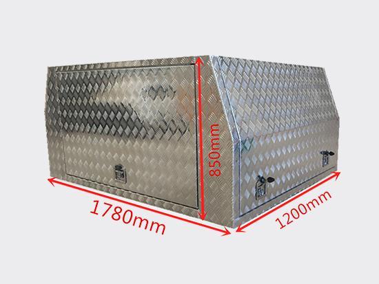 铝合金车篷工具箱