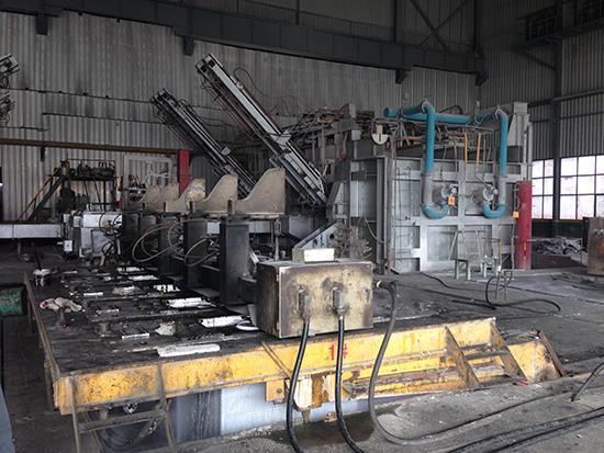 75T internal guide hydraulic semi-continuous casting machine