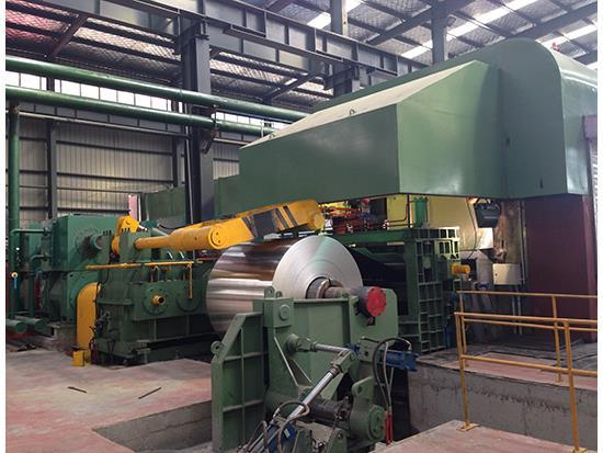 Six-roll cold rolling mill of 2450mm