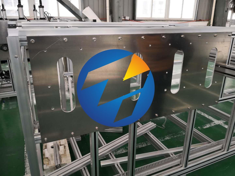 铝板铝型材拼接组装